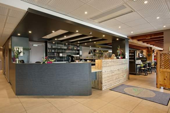 Les Maraîchers Reception's · 3-star hotel Colmar· Inexpensive